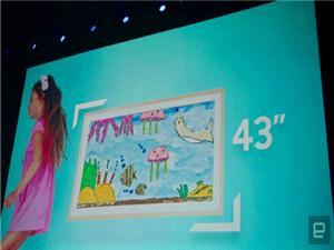مدل کوچکتر Frame TV توسط سامسونگ معرفی شد