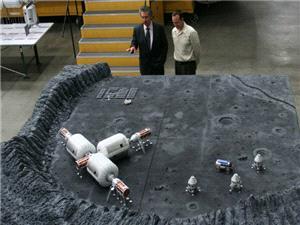 سفر انسان به ماه بار دیگر در برنامه های ناسا قرار گرفت