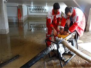 امداد رسانی به 487 نفر از عشایر وحادثه دیدگان سیل