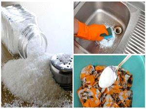 ترفندهای نمکی برای پاکسازی خانه-سلامت