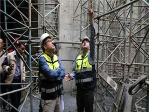 پیشرفت 98 درصدی بخش سیویل و ساختمانی ایستگاه میدان امام حسین (ع)