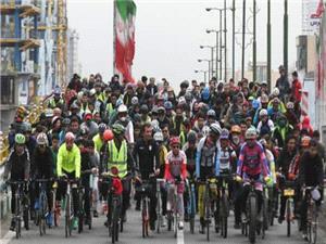 پارک لاله میزبان دوچرخه سواران در روز جهانی دوچرخه