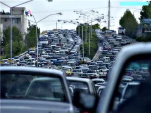 وضعیت ترافیکی معابر بزرگراهی تهران در بیست و نهمین روز از خردادماه