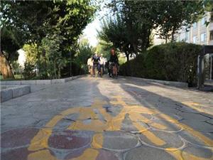احداث 2 هزار و 500 متر مسیر دوچرخه در منطقه 13