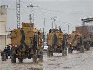 ترکيه تجهيزات نظامي وارد خاک سوريه مي کند