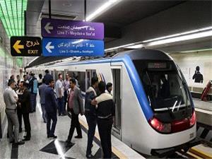 مترو به شرکت کنندگان در راهپیمایی بصورت رایگان خدمات رسانی می کند