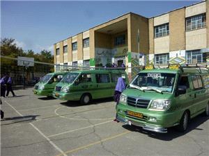 رانندگان سرویس مدارس تا 10 آذر اطلاعات خود را در سامانه سپند تکمیل کنند