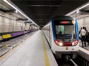 ایستگاه مترو مولوی همراه با دو رام قطار افتتاح می شود