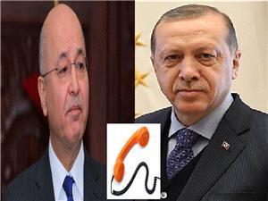 گفتگوی تلفنی روسای جمهور ترکیه و عراق