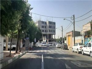 کاهش ترافیک و روان سازی تردد در خیابان لطیفی منطقه 19