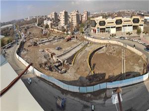 تلاش برای گشایش ترافیکی در فاز نخست بزرگراه شهید بروجردی