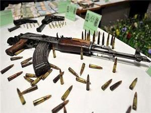 محموله سلاح قاچاق در مهران کشف و ضبط شد