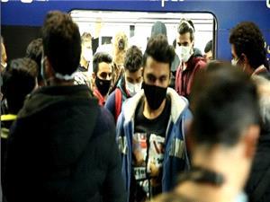 بی توجهی به مصوبههای ستاد مقابله با کرونا ،علت ازدحام مسافر در مترو