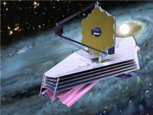 سلفی تلسکوپ فضایی جیمز وب در فرایند آزمایش