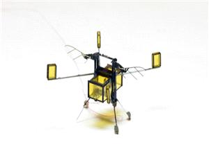 نسخه جدید میکرو ربات RoboBee با قابلیت شنا در آب و پرواز در هوا [تماشا کنید]