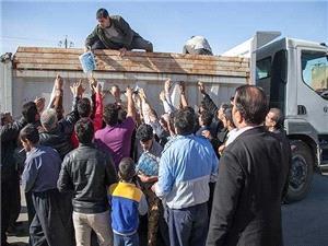 توزیع آب معدنی، اعزام پزشک و دارو در مناطق زلزله زده