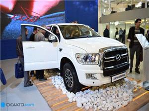 معرفی پیکاپ چینی ترالورد توسط گروه بهمن در نمایشگاه خودرو تهران