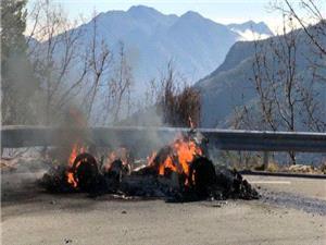 آتش سوزی رنو آلپاین A110 در حین فیلم برداری TOP GEAR