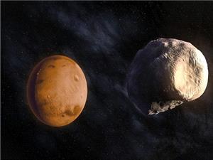 ثبت تصاویری از قمرهای سیب زمینی شکل مریخ توسط مدارگرد «ادیسه»