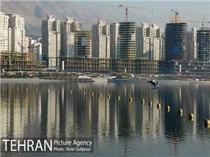 اتمام عملیات آبگیری دریاچه شهدای خلیج فارس