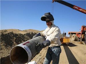 اتصال خط 20 اینچ مجتمع فولاد بوتیای ایرانیان به شبکه انتقال گاز