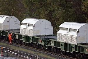 قطارهای حمل زباله