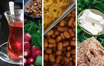 روزه داري, تغذيه در روزه داري