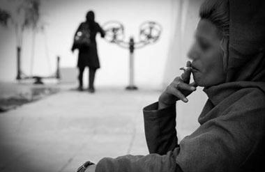 اعتياد در زنان،درمان اعتياد در زنان,تصاوير زنان معتاد