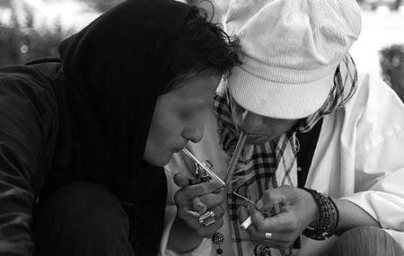 عوارض اعتياد زنان,اعتياد در زنان,عکس هاي زنان معتاد