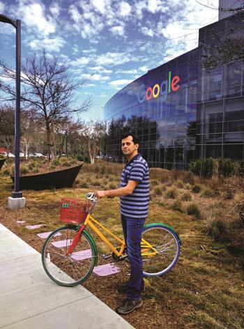 محمد مهديان؛ يک ايراني ساکن در گوگل