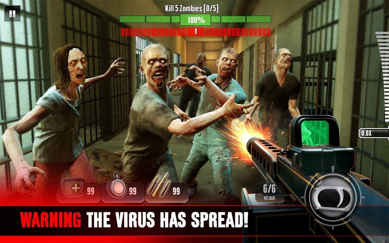 دانلود Kill Shot Virus v1.0.4 + Mod - بازی موبایل نبرد با زامبیها