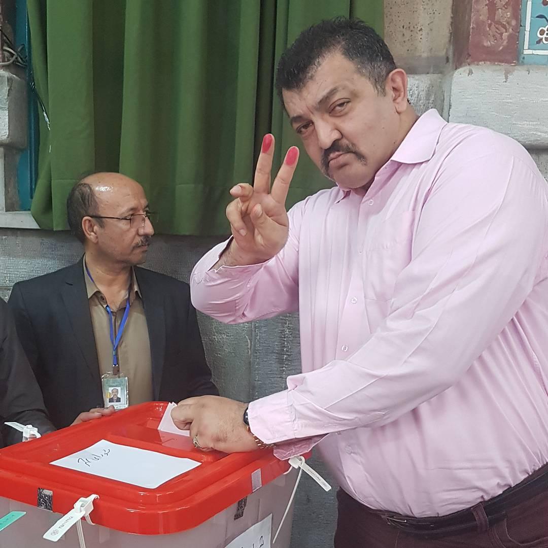 بازیگران پای صندوق های رای 2