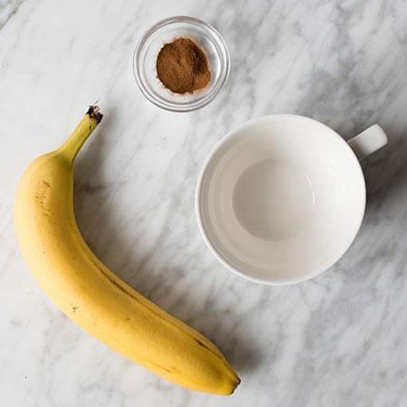 چاي موز قبل از خواب