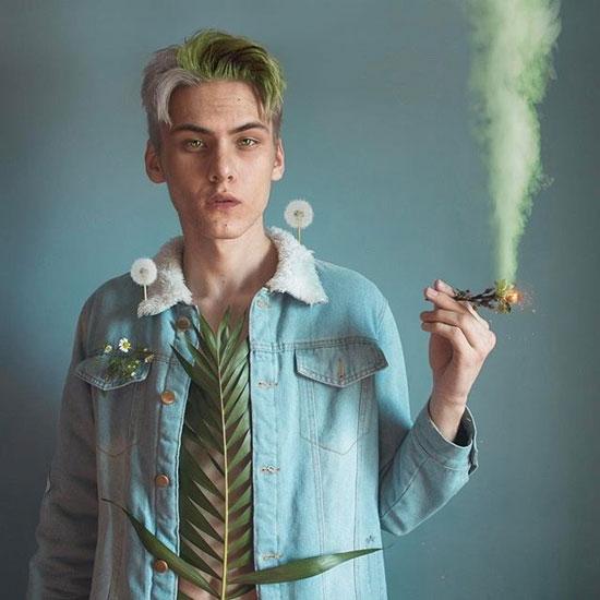 هنرمند جواني که با عکسهاي خود تصاوير سورئال خلق ميکند