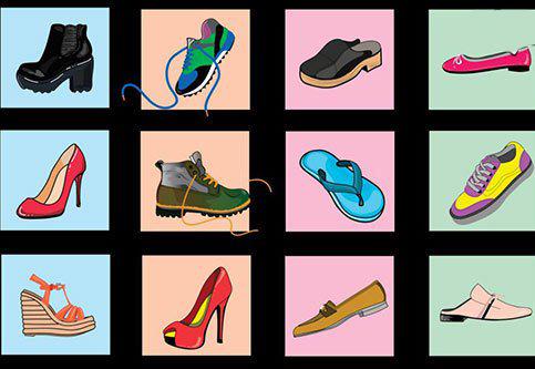 شخصيت شناسي از روي کفش مورد علاقه