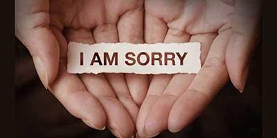 بهترين راه عذرخواهي