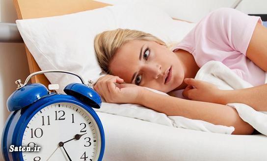 درمان بي خوابي با 10 ترفند 30 ثانيه اي