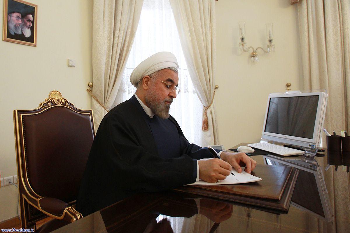 پيام تبريک دکتر روحاني به نخست وزير پاکستان