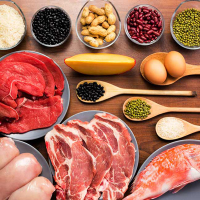 مواد غذایی حاوی پروتئین،رژیم لاغری پروتئین