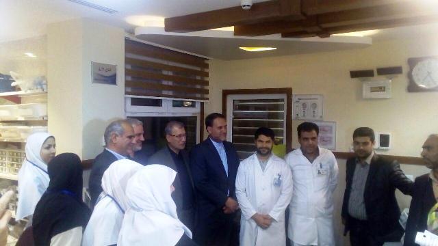 با حضور دکتر ربیعی صورت گرفت؛ افتتاح هتلینگ بیمارستان تامین اجتماعی تربت حیدریه