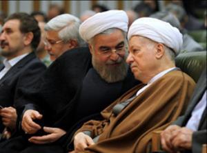 سعید روحانی و هاشمی رفسنجانی