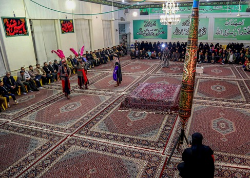 برگزاري آيين سوگواره تعزيه علوي در نيشابور