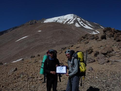 برپايي کمپ کوهنوردان نيشابوري بر فراز بام ايران