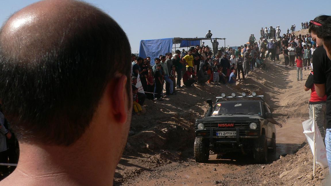 برگزاري مسابقات اتومبيلراني آفرود در نيشابور