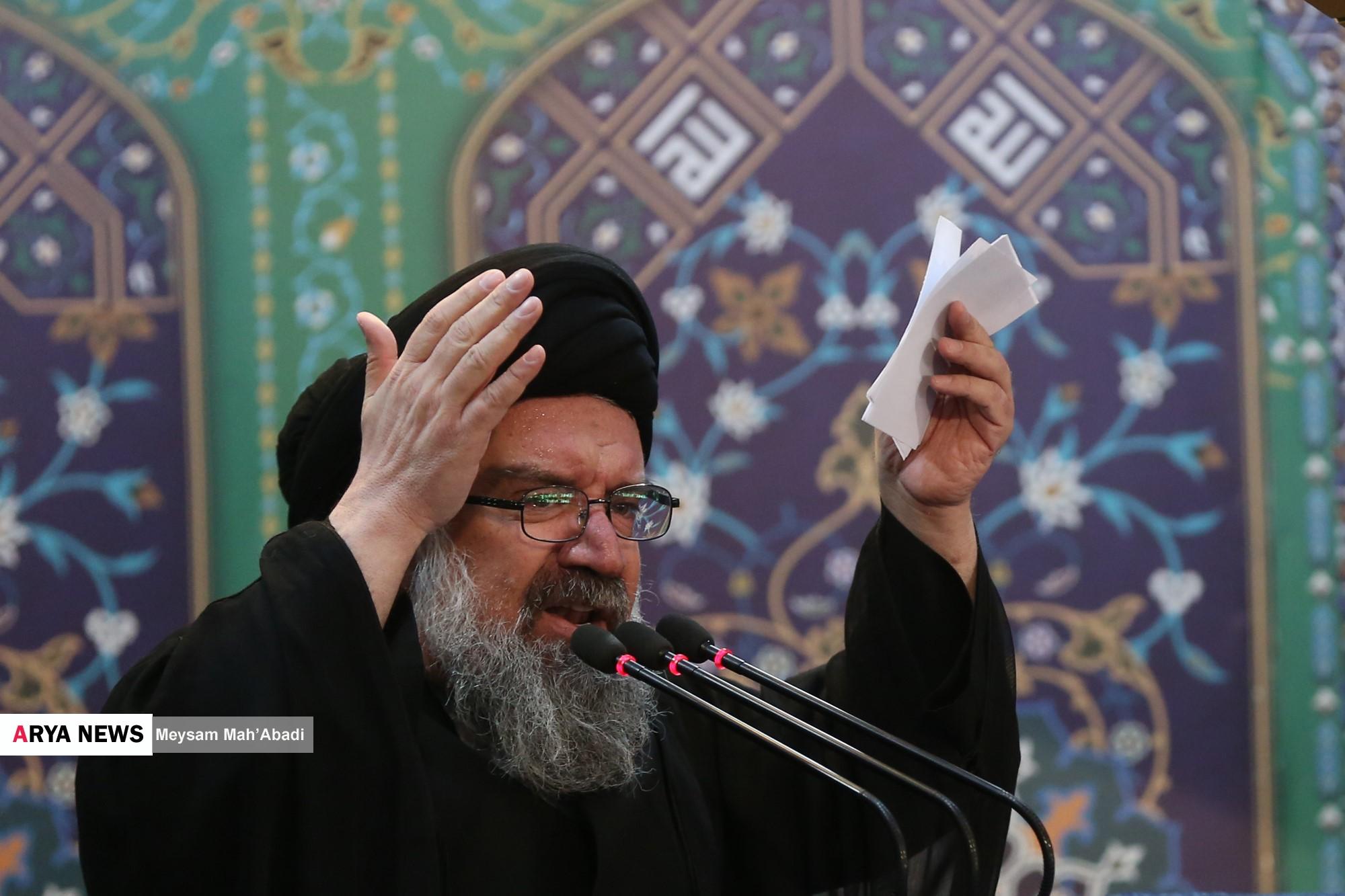 گزارش تصویری آریا از نماز جمعه تهران / 14 مهر 96