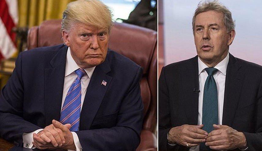 واکنش ها به استعفای سفیر انگلیس در آمریکا/ لندن: احتمال افشای یادداشتهای دیپلماتیک بیشتر وجود دارد