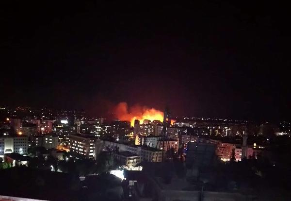 انفجار مهیب در عفرین/آتشسوزی گسترده در جنوب دمشق/ اعلام زمان برگزاری مذاکرات آستانه
