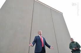 ديوان عالي آمريکا جلوي ساخت ديوار مرزي ترامپ را نگرفت