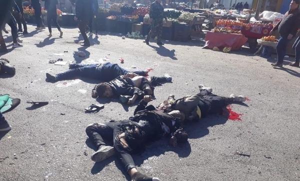 وقوع دو انفجار انتحاری در مرکز بغداد با 28 شهید و 73 زخمی/ واکنش رئیس جمهور عراق