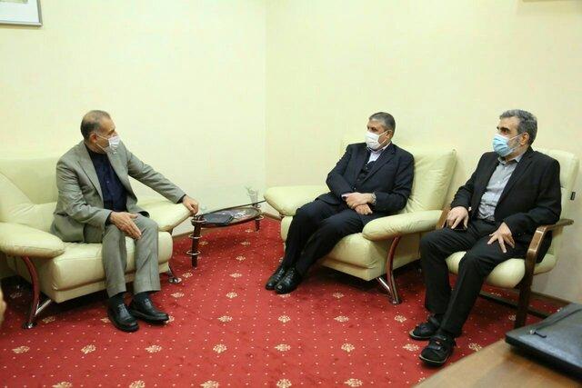 رئیس سازمان انرژی اتمی وارد مسکو شد